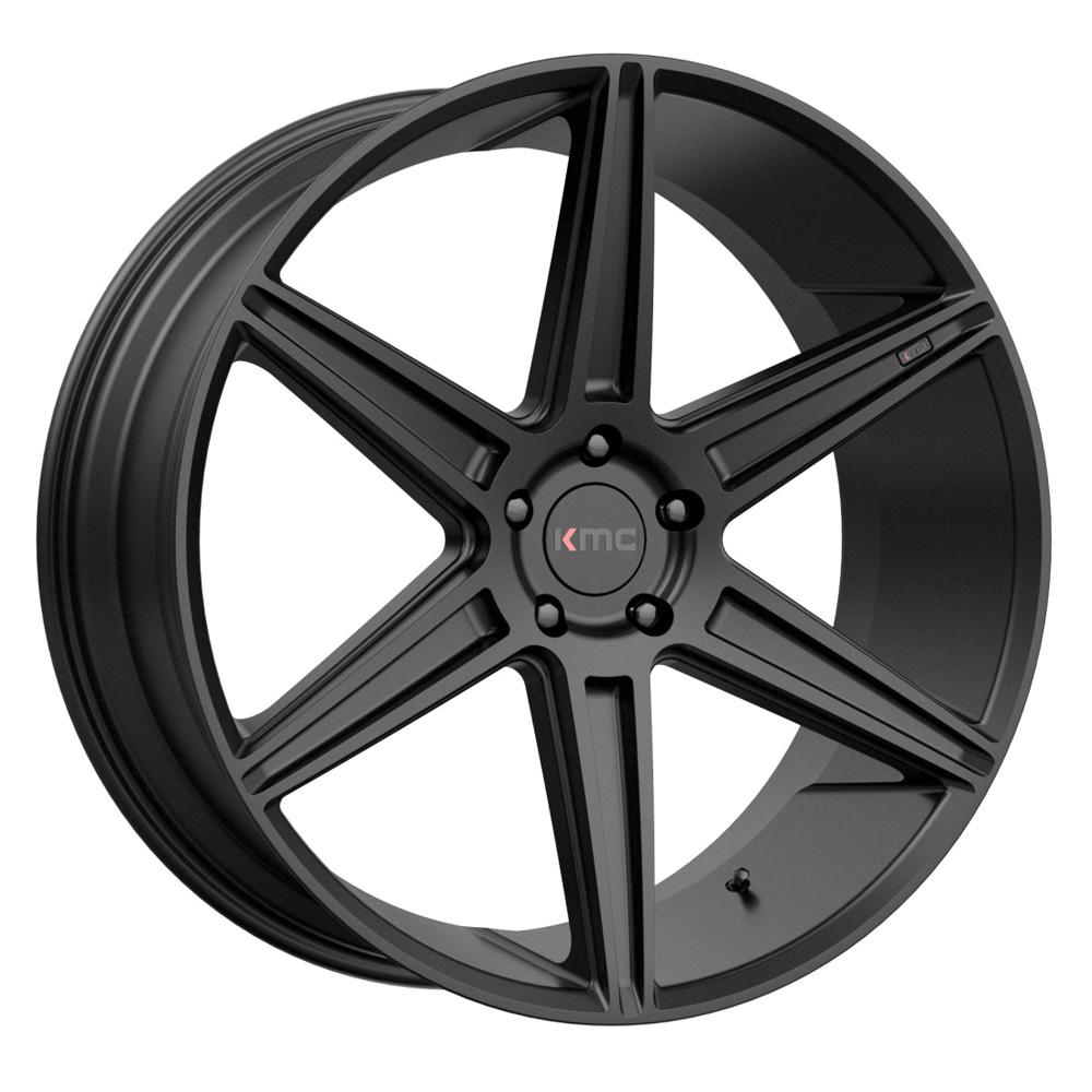 KMC Wheels KM712 Prism - Satin Black Rim