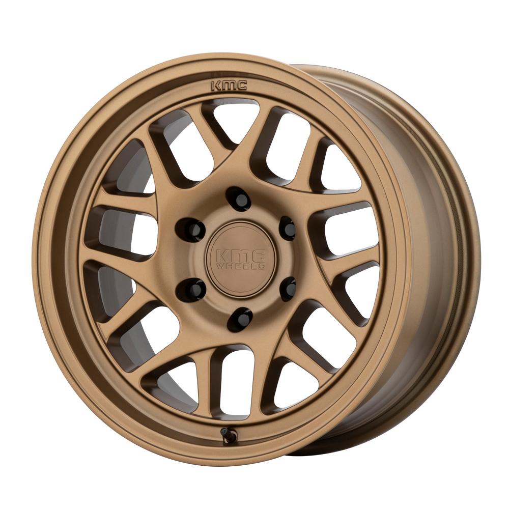 KMC Wheels KM717 - Matte Bronze Rim