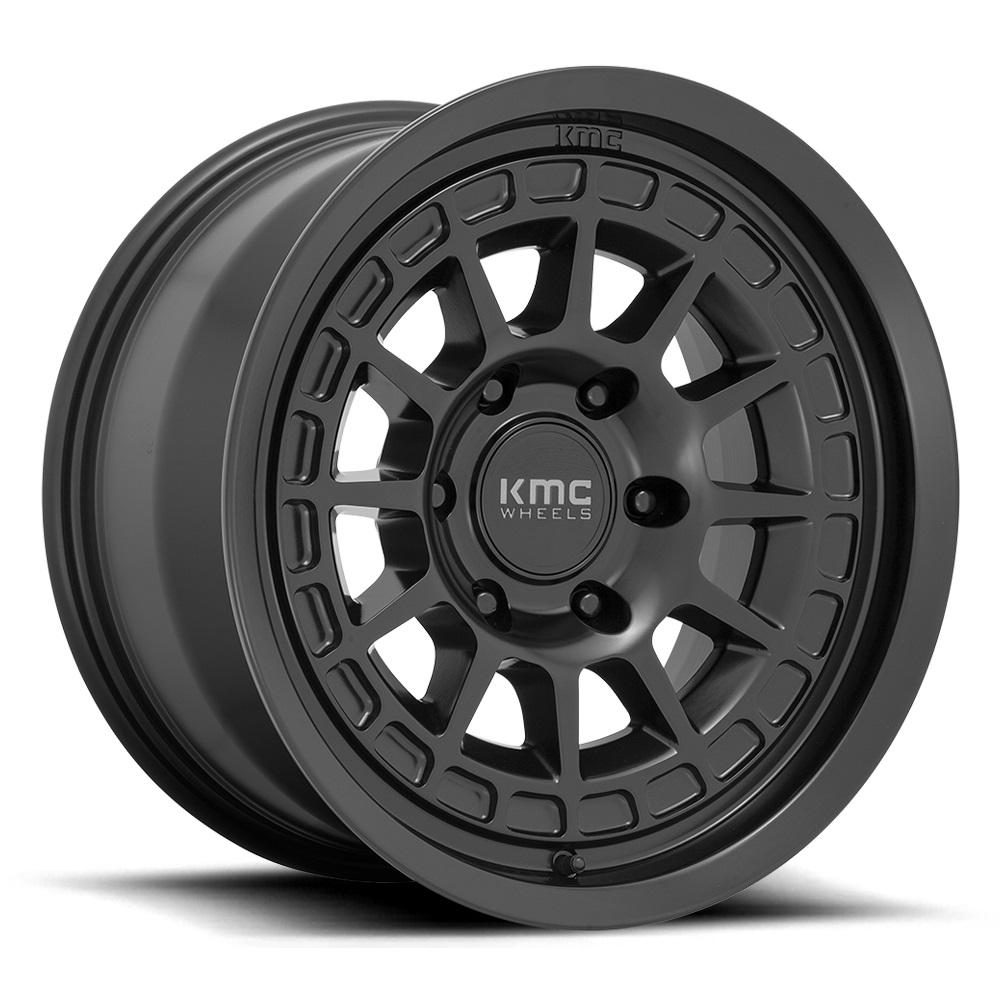 KMC Wheels KM719 Canyon - Satin Black Rim