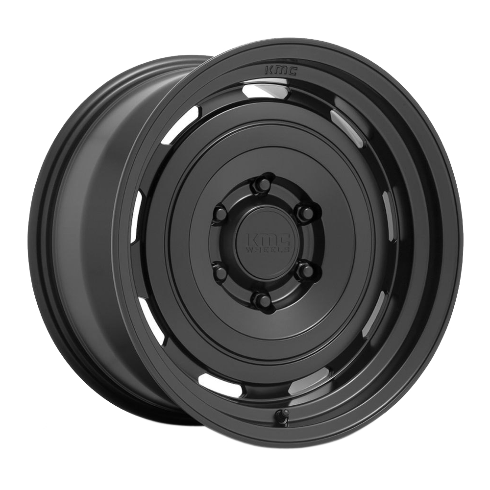 KMC Wheels KM720 Roswell - Matte Anthracite Rim