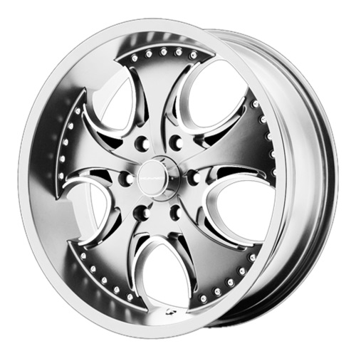 KMC Wheels KM755 Venom - Chrome Rim