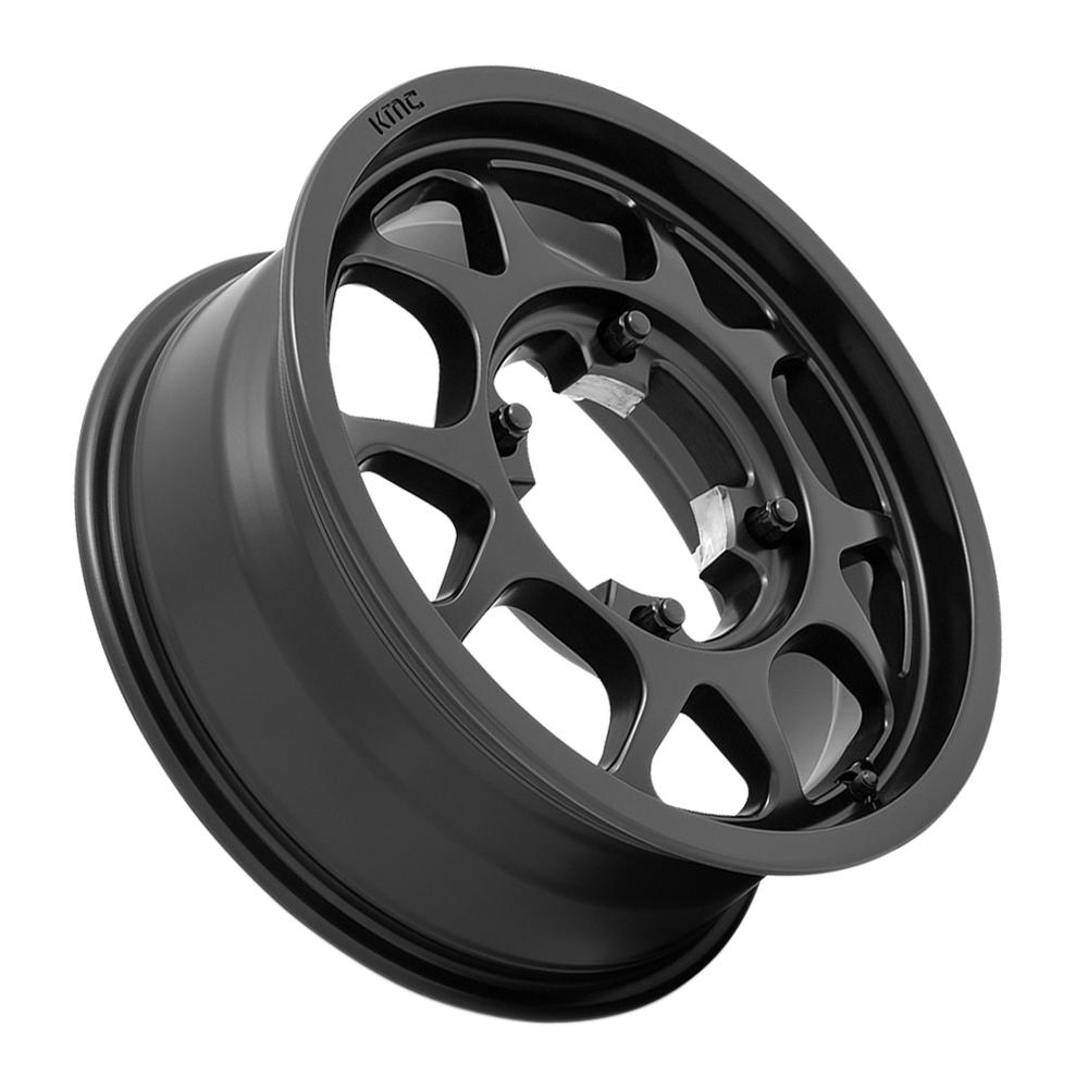 KMC Wheels KS136 Toro - Satin Black Rim