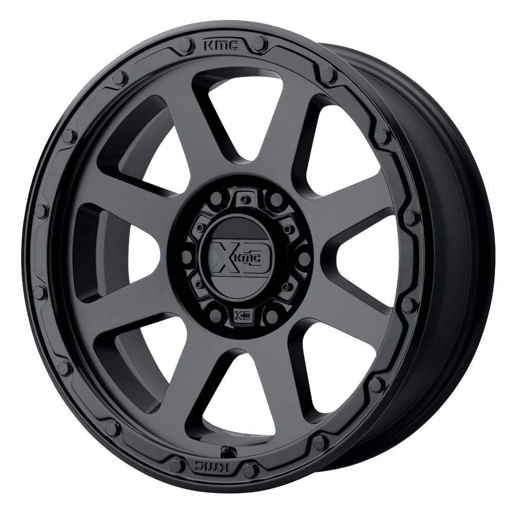 XD Series Wheels XD134 Addict 2 - Matte Black Rim