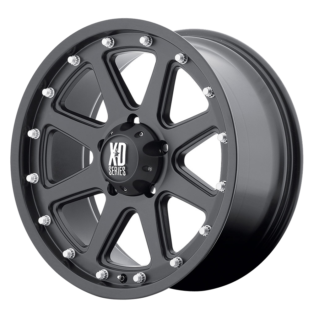 XD Series Wheels XD798 Addict - Matte Black Rim - 16x9