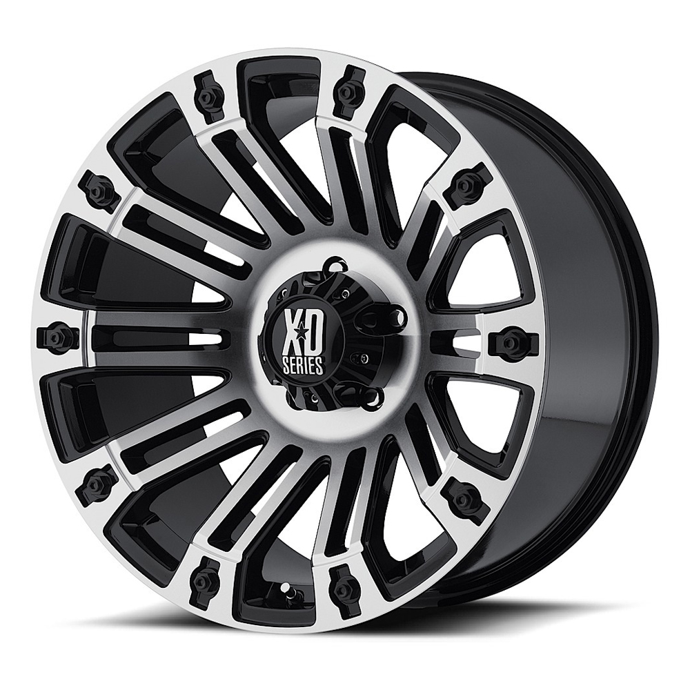 XD Series Wheels XD810 Brigade - Gloss Black Machined Rim