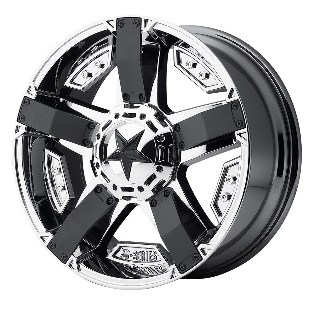 XD Series Wheels XD811 Rockstar II - PVD w/Matte Black Rim