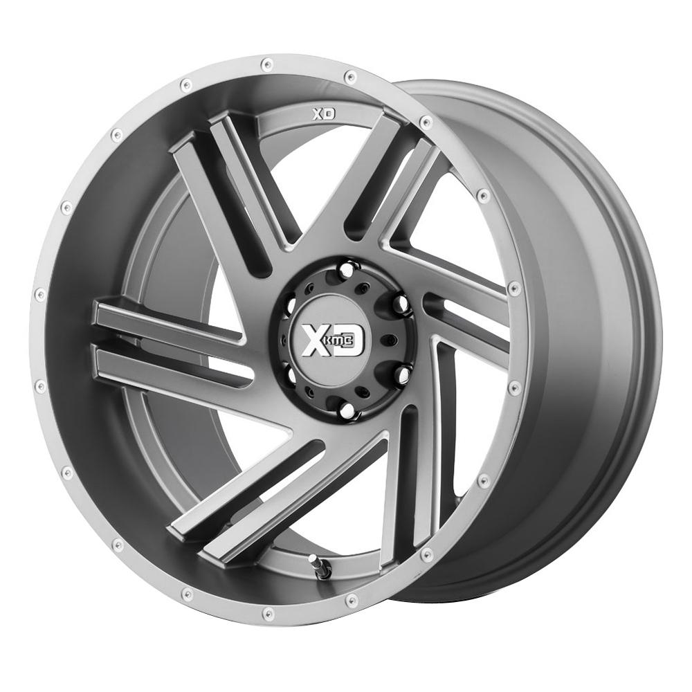 XD835 Swipe - Satin Grey Milled