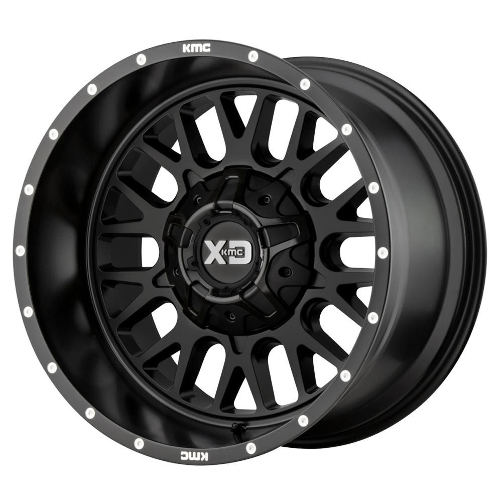 XD Series Wheels XD842 Snare - Satin Black Rim