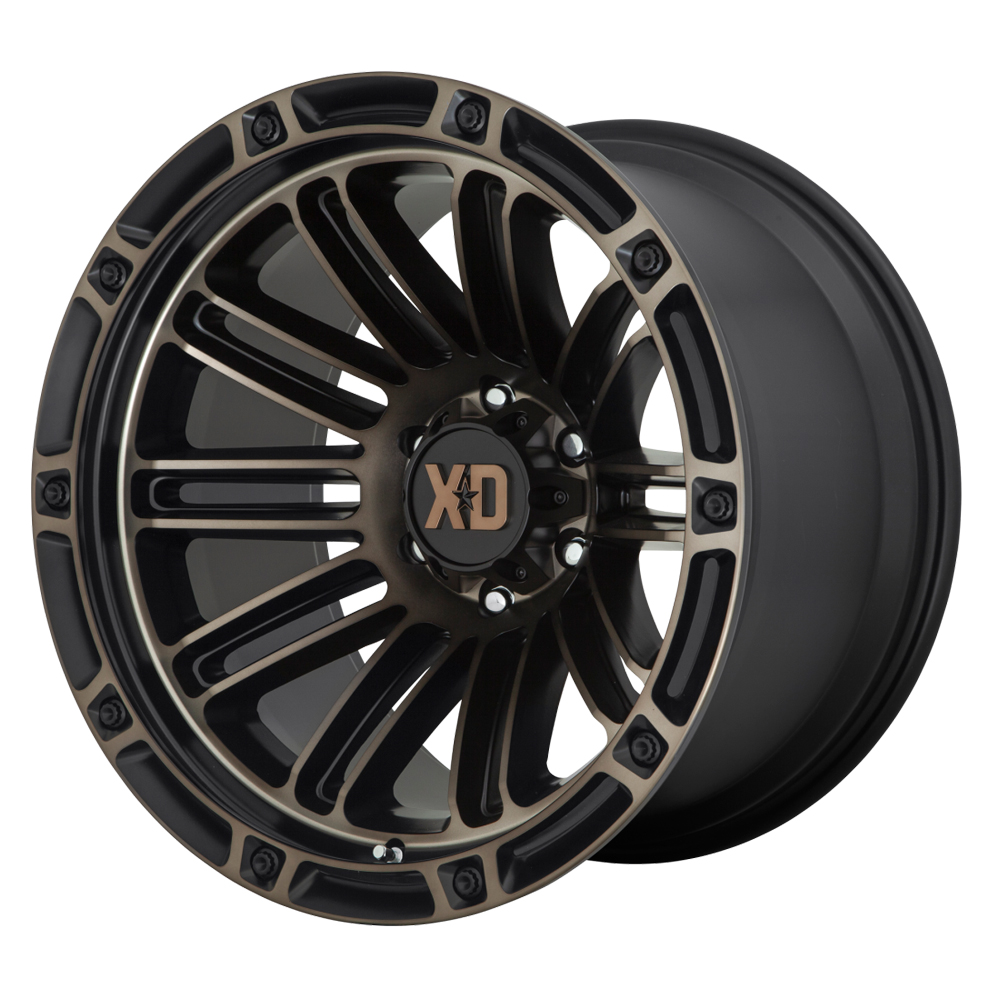 XD Series Wheels XD846 Double Deuce - Satin Black Dark Tint Rim