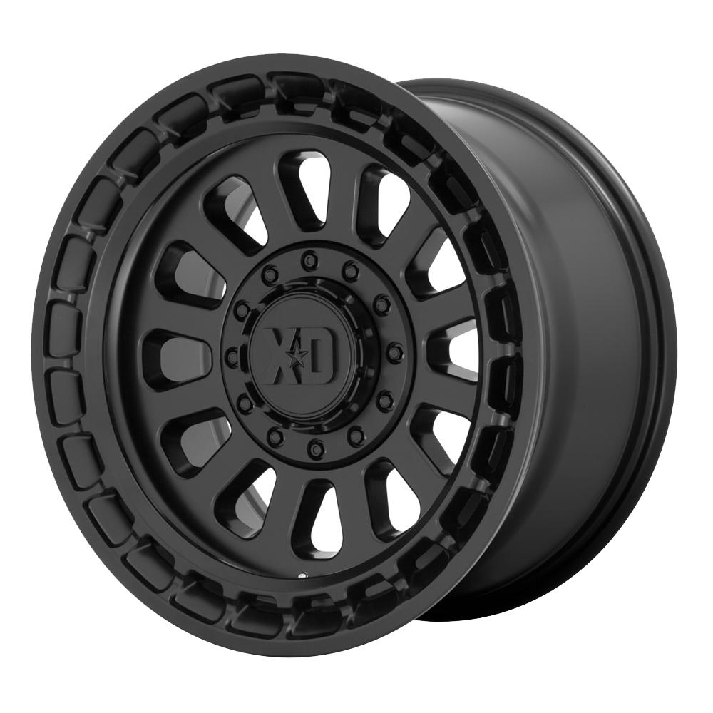 XD Series Wheels XD856 Omega - Satin Black Rim