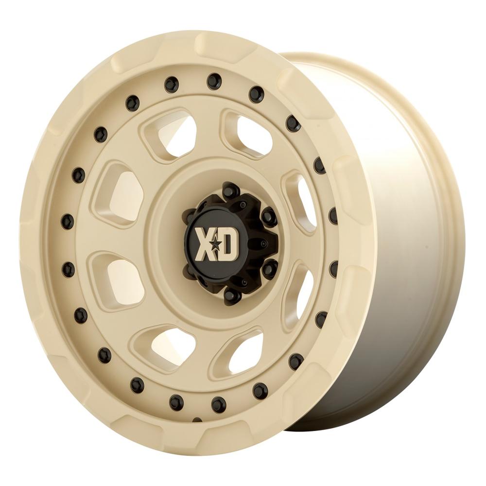 XD Series Wheels XD861 Storm - Sand Rim