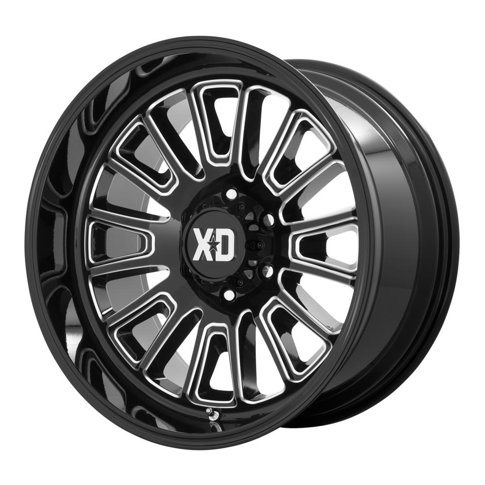 XD Series Wheels XD864 Rover - Gloss Black Milled Rim