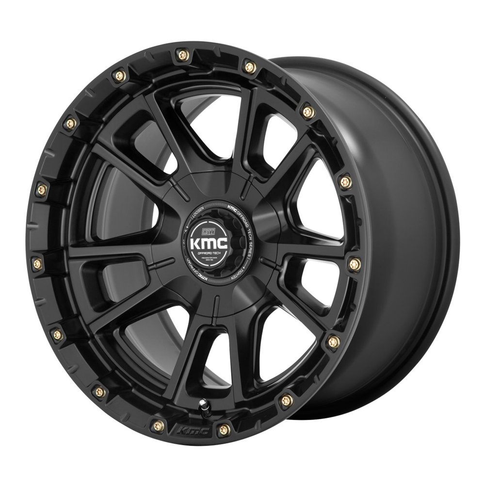 XD Series Wheels KM100 Sync - Satin Black Rim