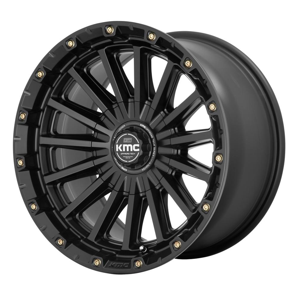 XD Series Wheels KM102 Signal - Satin Black Rim