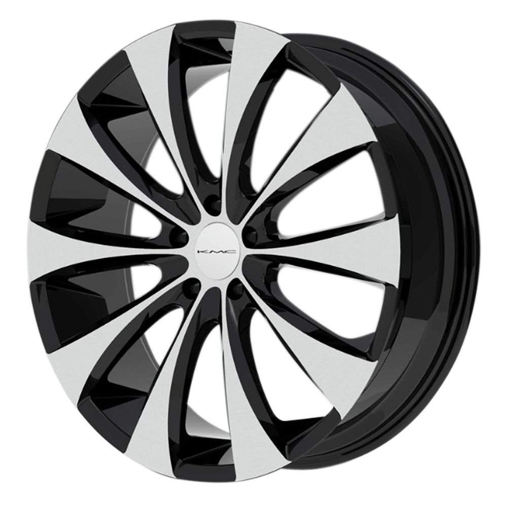 XD Series Wheels KM679 Fader - Gloss Black Machined Rim