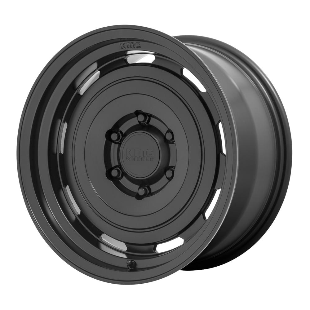 XD Series Wheels KM720 Roswell - Satin Black Rim