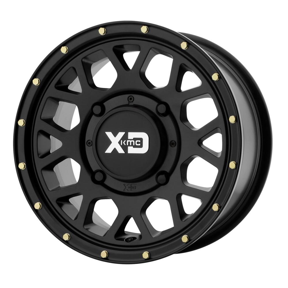 XD ATV Wheels KS135 Grenade UTV - Satin Black Rim