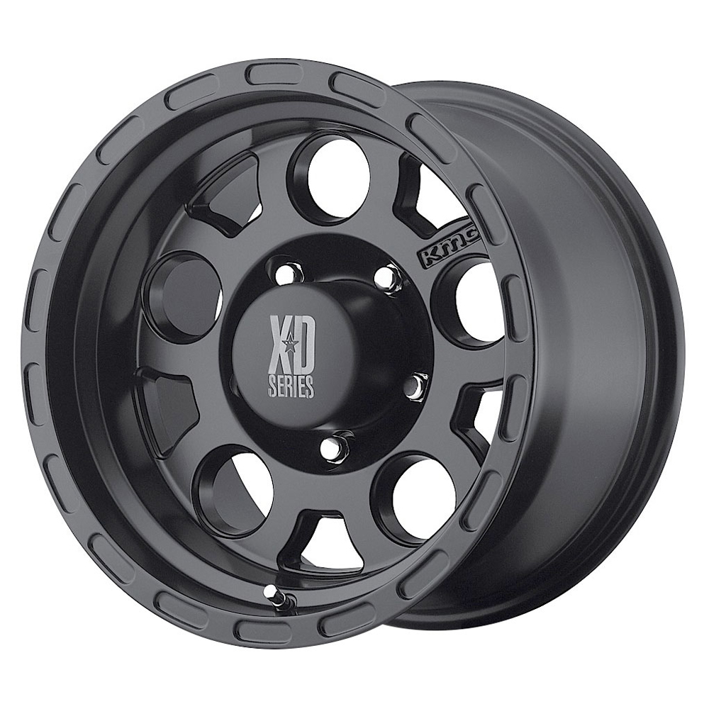 XD Series Wheels XD122 Enduro - Matte Black Rim - 16x9