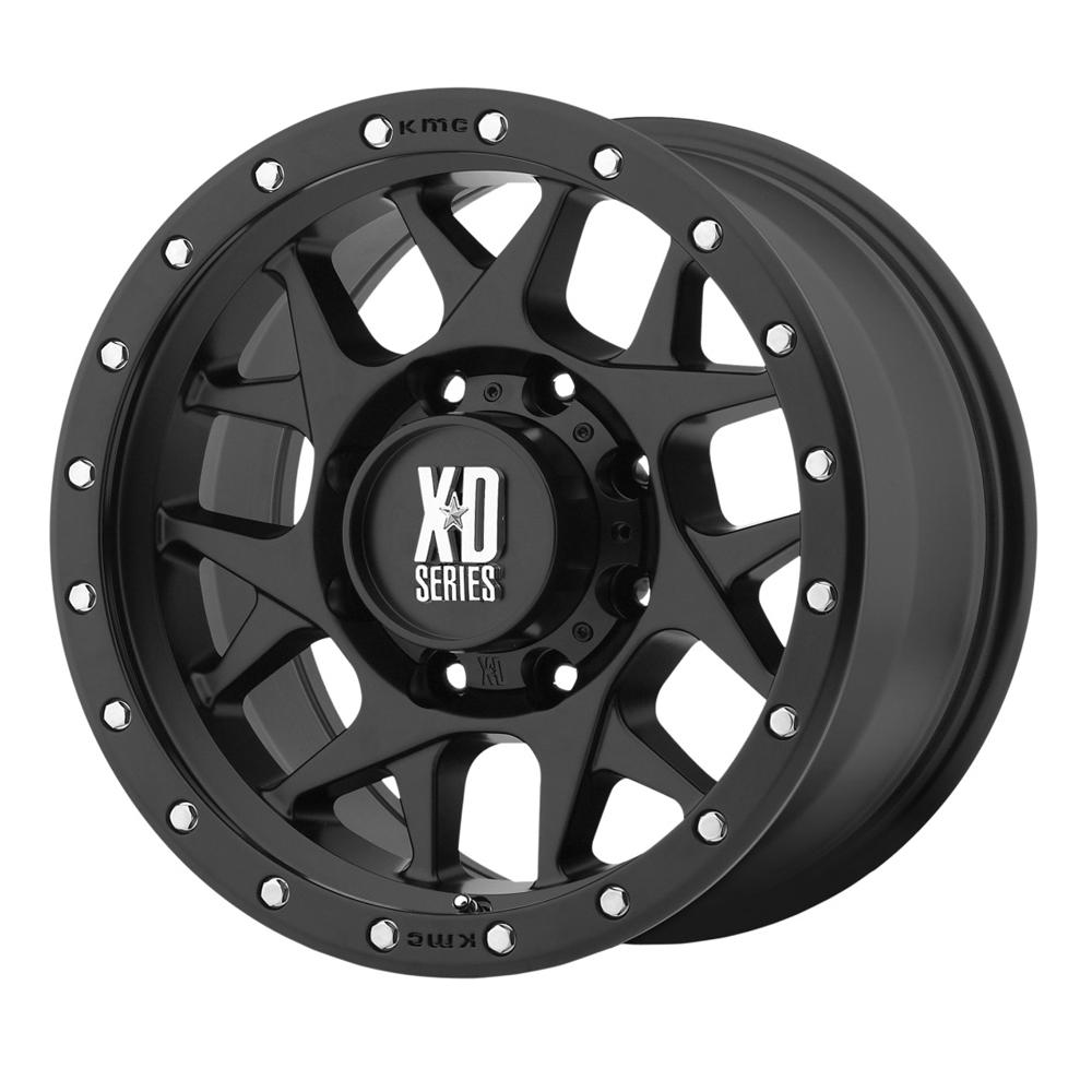 XD Series Wheels XD123 Bully - Satin Black Rim