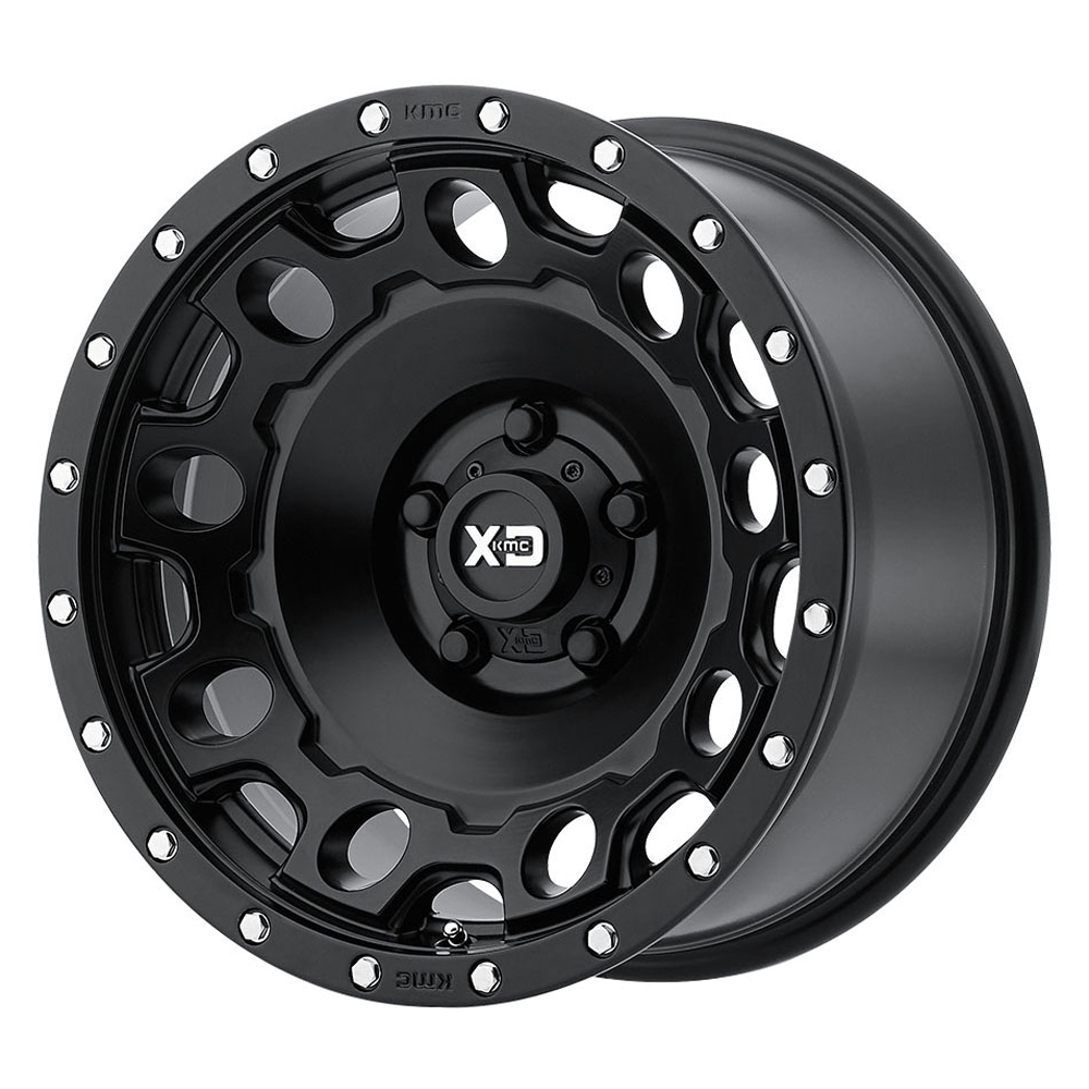 XD129 Holeshot - Satin Black
