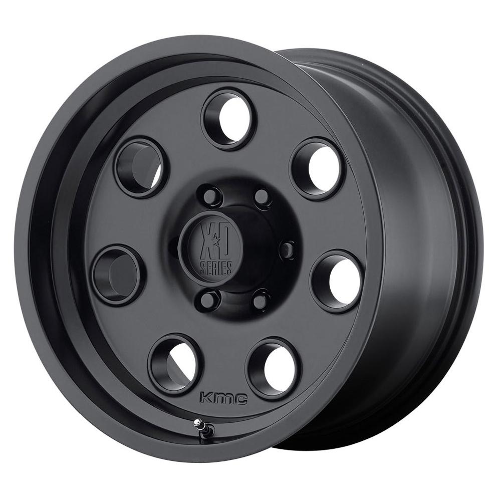 XD Series Wheels XD300 Pulley - Satin Black Rim