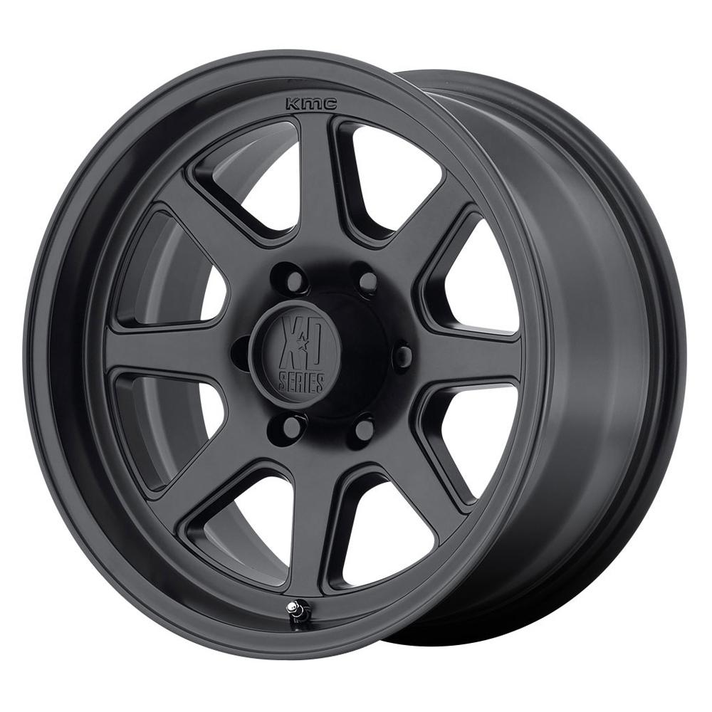 XD Series Wheels XD301 Turbine - Satin Black Rim