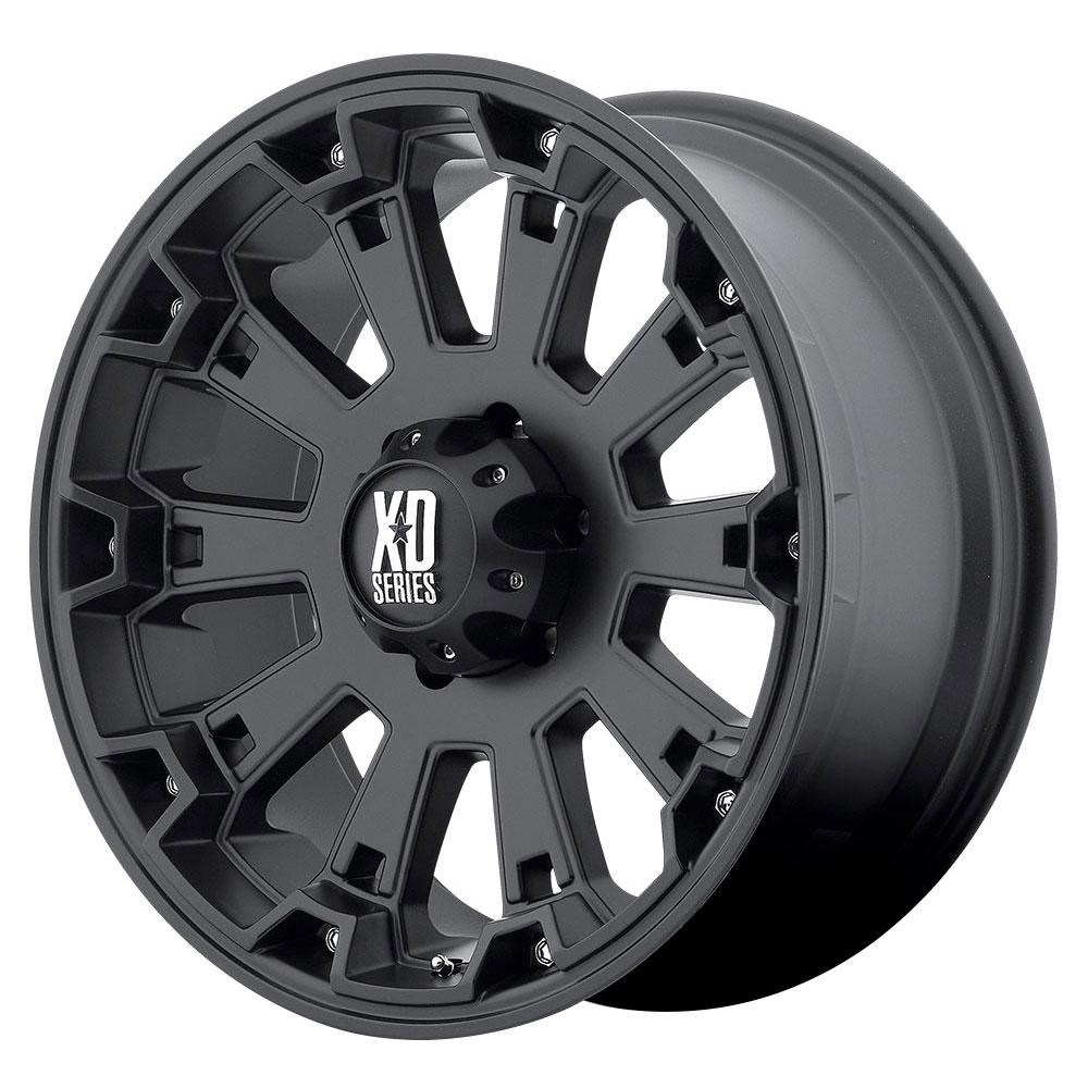 XD Series Wheels XD800 Misfit - Matte Black Rim