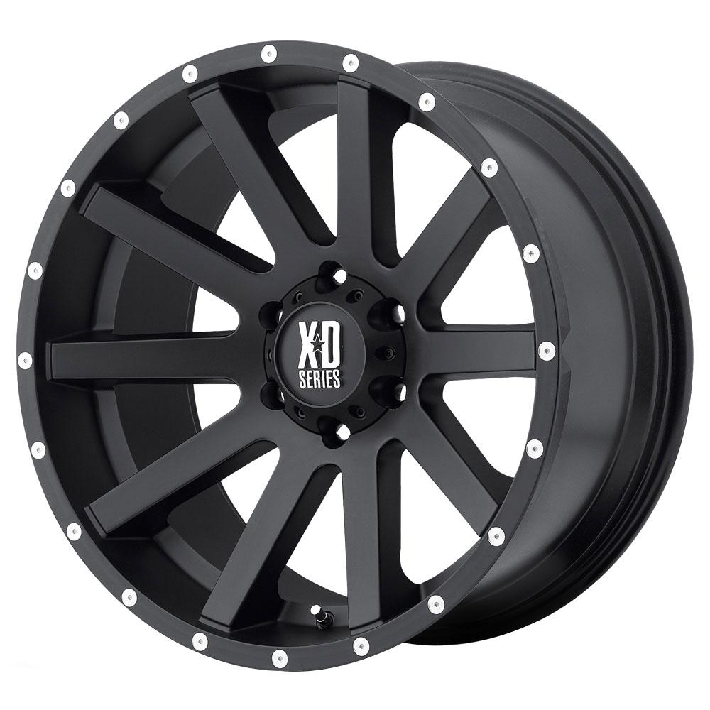XD Series Wheels XD818 Heist - Satin Black Rim