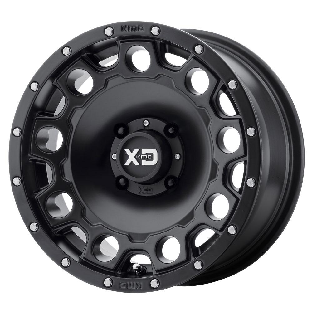 XD ATV Wheels XS129 Holeshot - Satin Black Rim