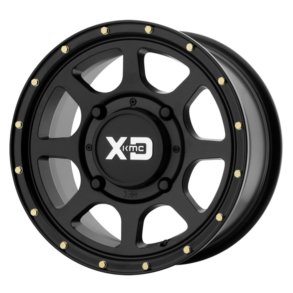 XD ATV Wheels XS134 Addict 2 - Satin Black Rim