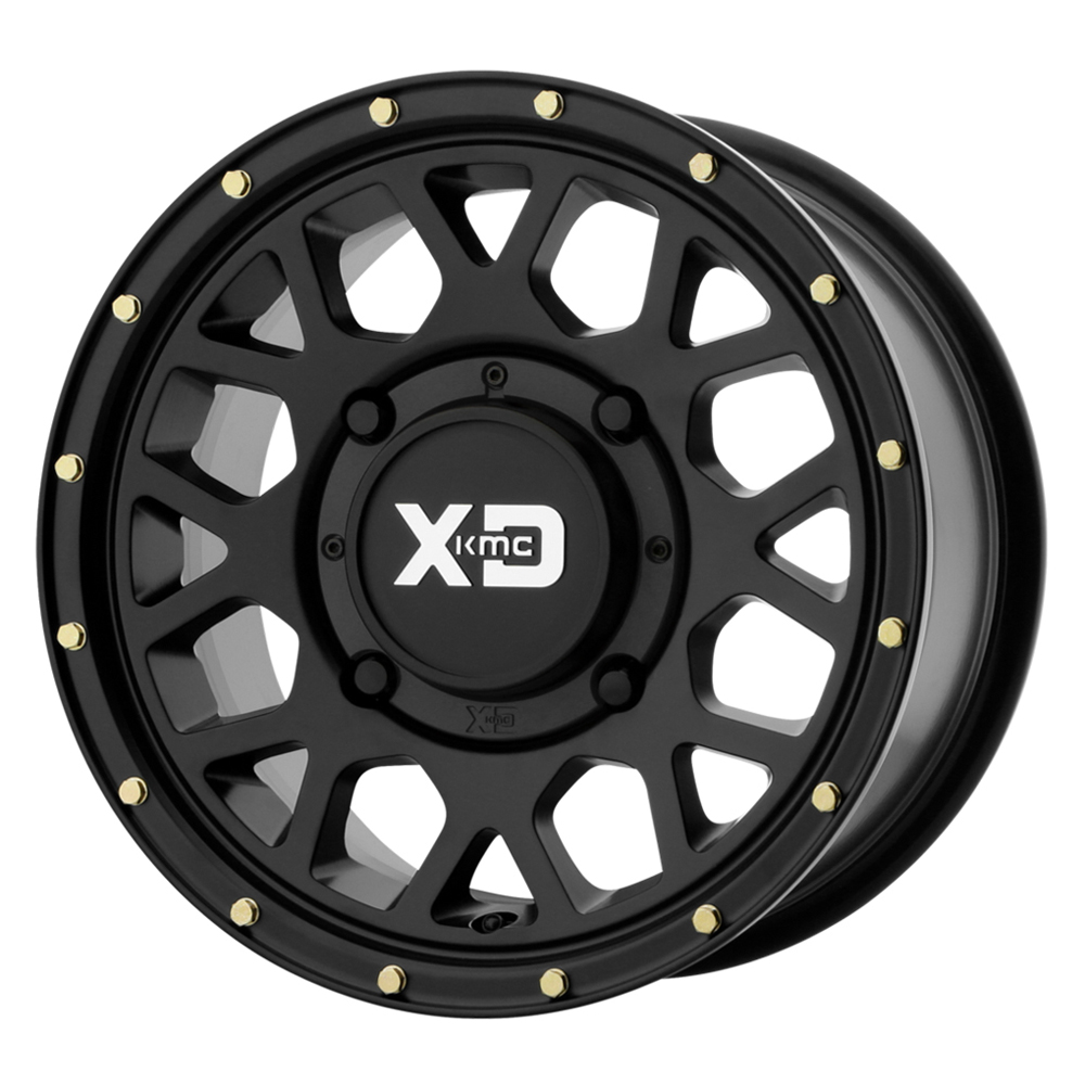 XD ATV Wheels XS135 Grenade - Satin Black Rim