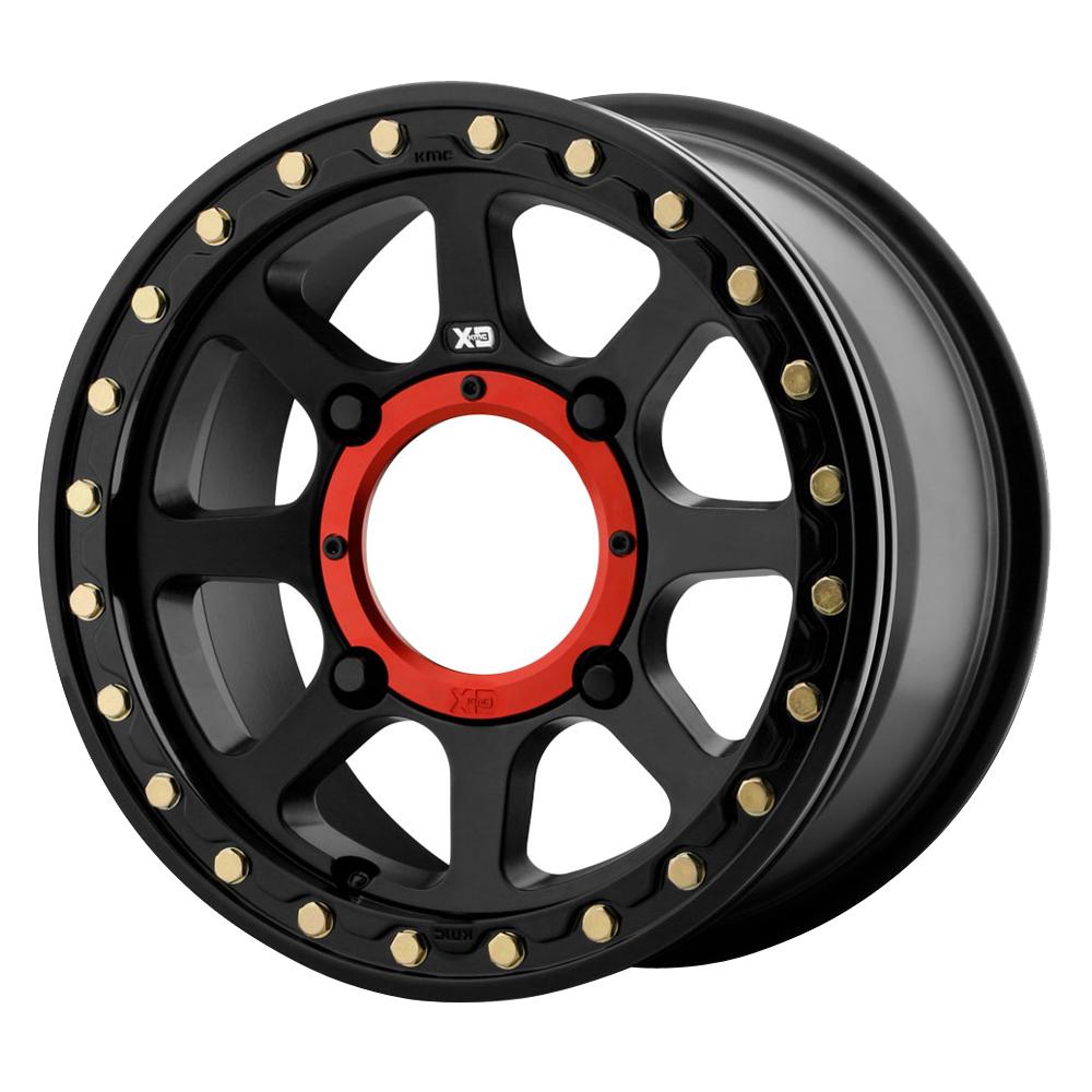 XD ATV Wheels XS234 Addict 2 Beadlock - Satin Black Rim