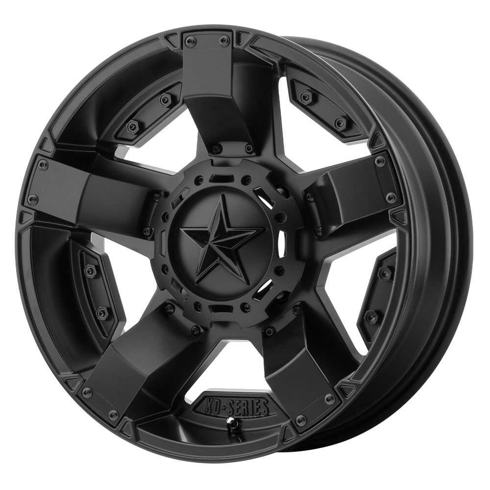 XD ATV Wheels XS811 Rockstar II - Satin Black Rim
