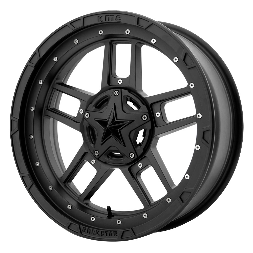 XD ATV Wheels XS827 RS3 - Satin Black Rim