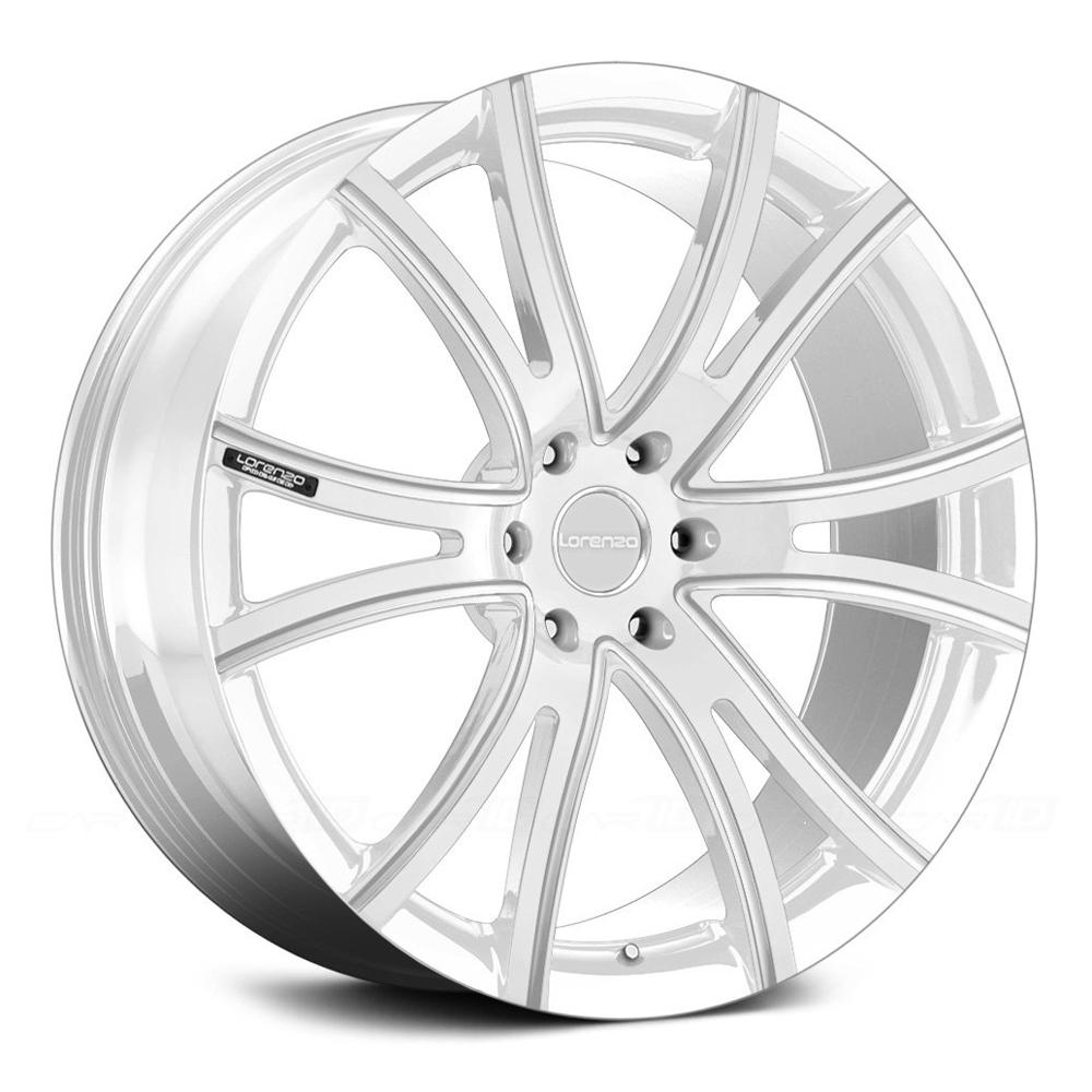 Lorenzo Wheels LF898 - Custom Finishes Up To Three Colors Rim