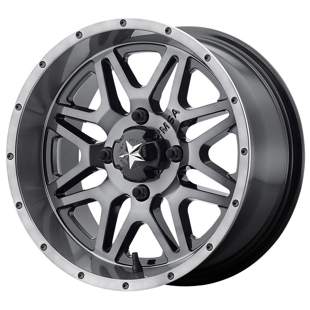 MSA Offroad Wheels M26 Vibe - Dark Tint Rim