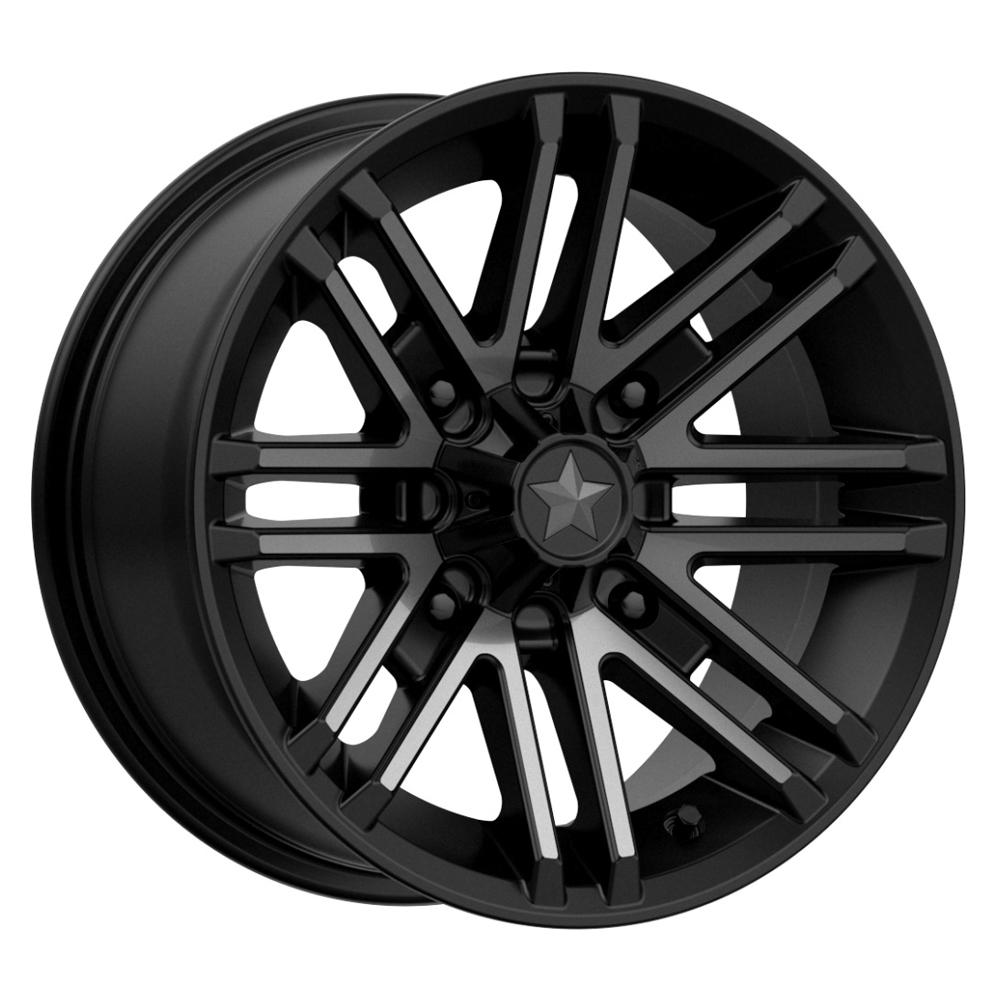 MSA Offroad Wheels M40 Rogue - Satin Black Titanium Tint Rim