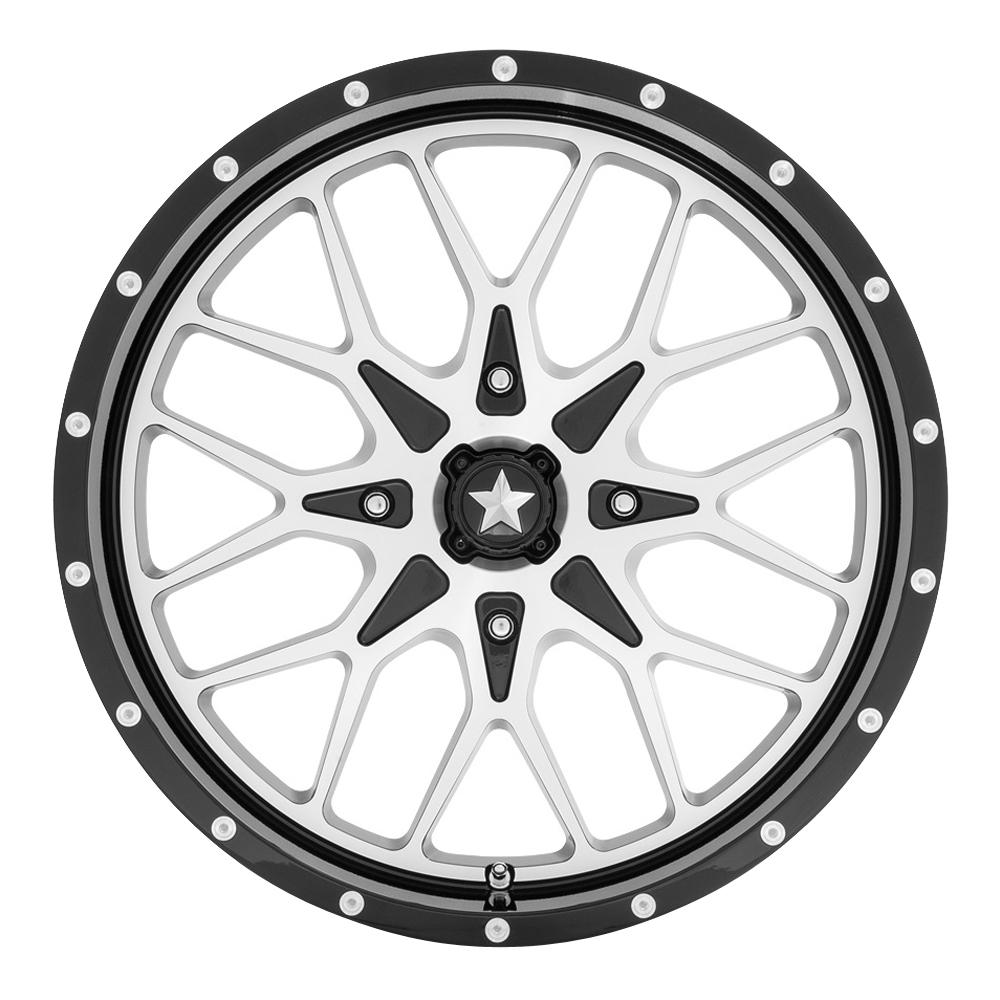 MSA Offroad Wheels M45 Portal - Gloss Black Machined Rim