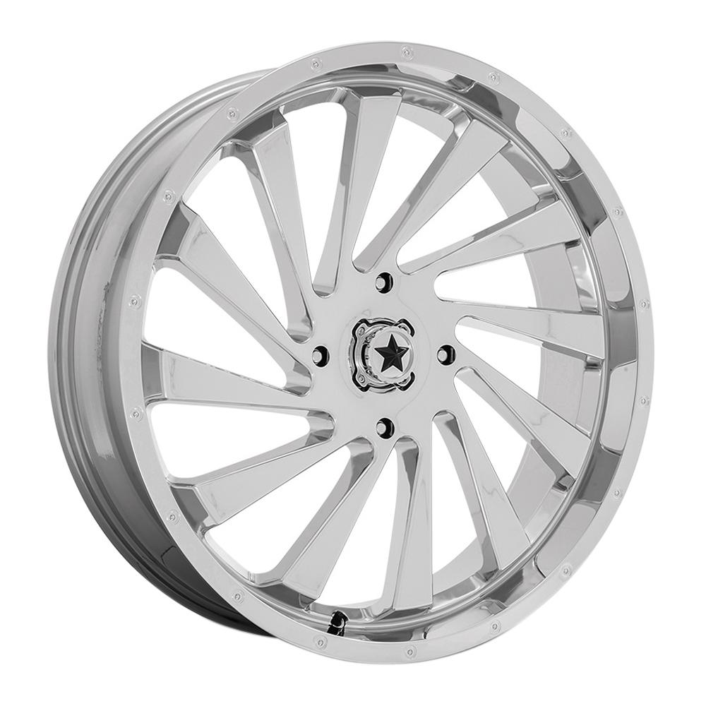 MSA Offroad Wheels M46 - Chrome Rim