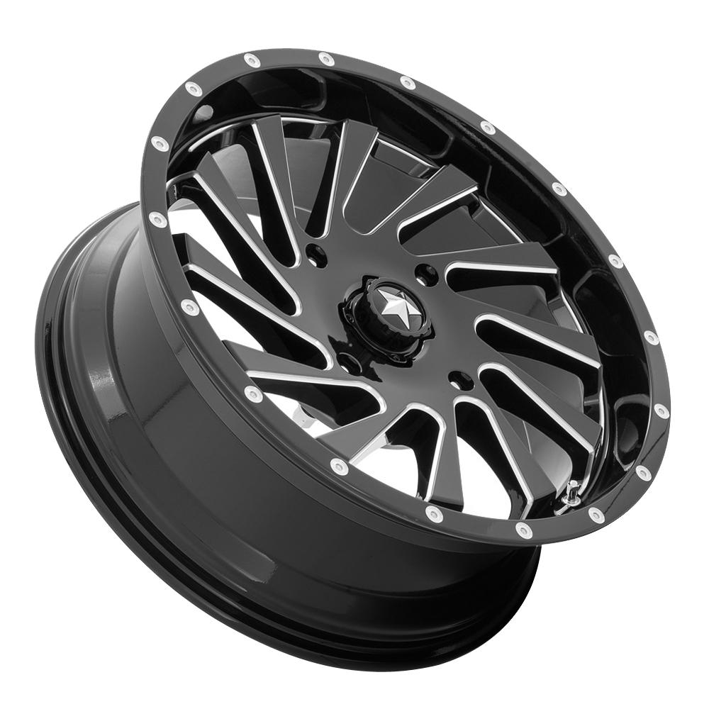 MSA Offroad Wheels M46 Blade - Gloss Black Milled Rim