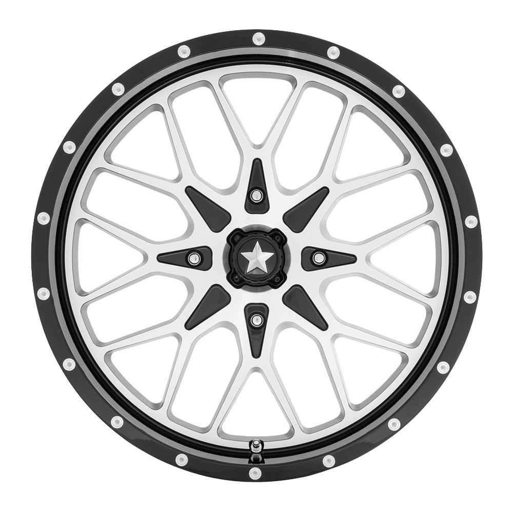 MSA Offroad Wheels MA45 - Gloss Black Machined Rim