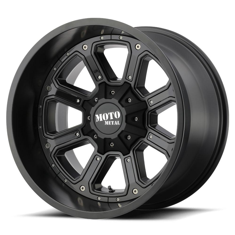 Moto Metal Wheels MO984 Shift - Matte Black With Gloss Black Inserts Rim