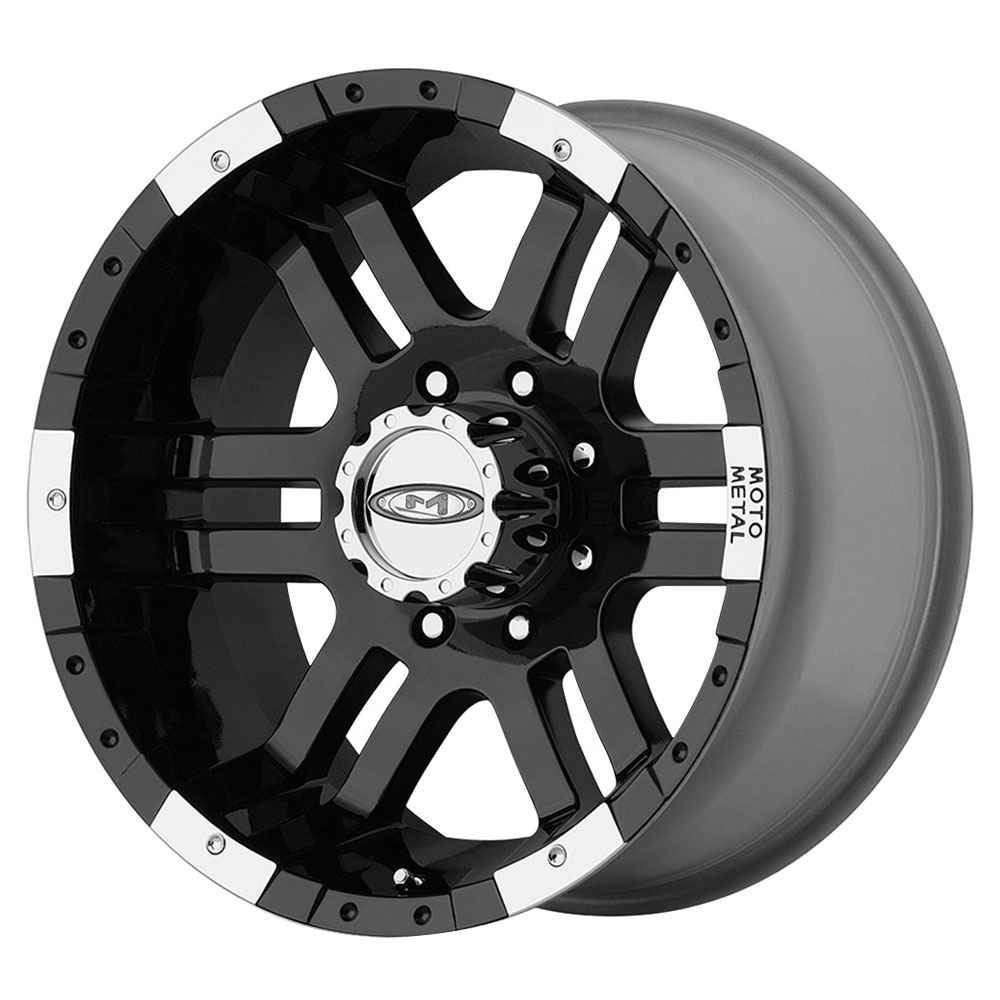 Moto Metal Wheels MO951 - Gloss Black Machined Rim - 16x9