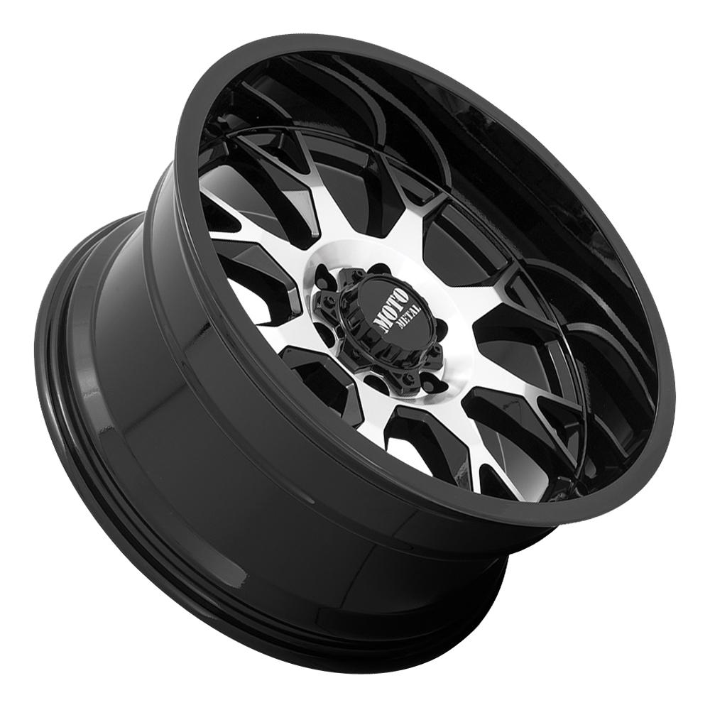 Moto Metal Wheels MO806 Talon - Gloss Black Machined Rim