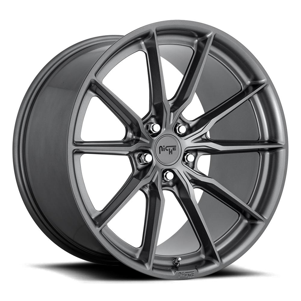 Niche Wheels M239 Rainier - Matte Anthracite Rim