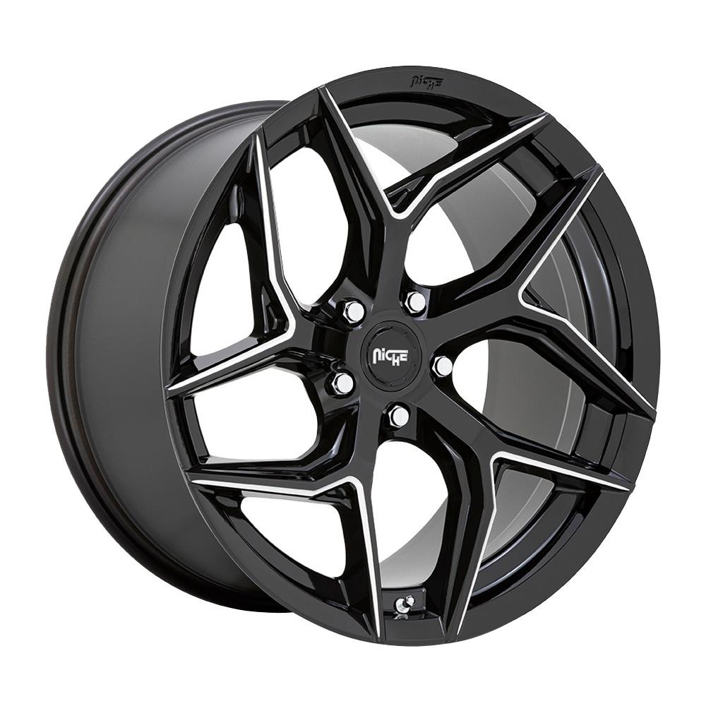 Niche Wheels Torsion M266 - Gloss Black Milled Rim
