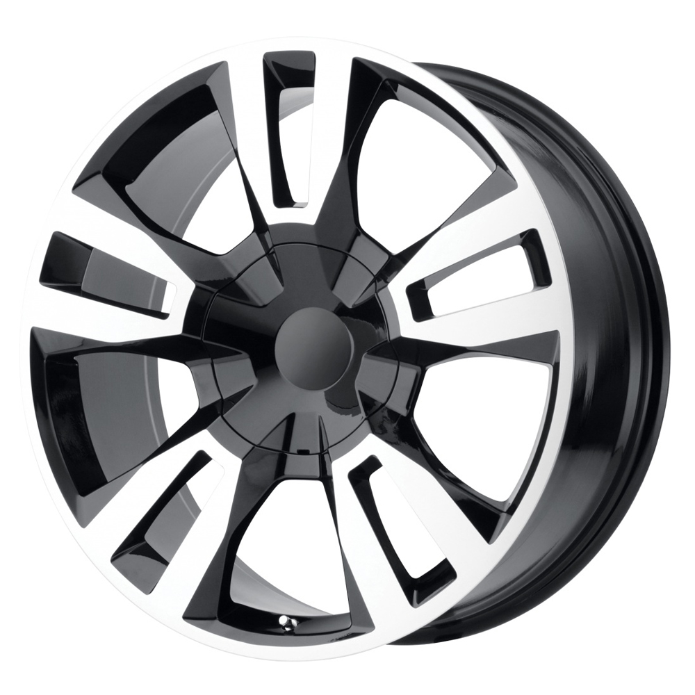 OE Creations Wheels PR188 - Gloss Black w/Machined Face Rim