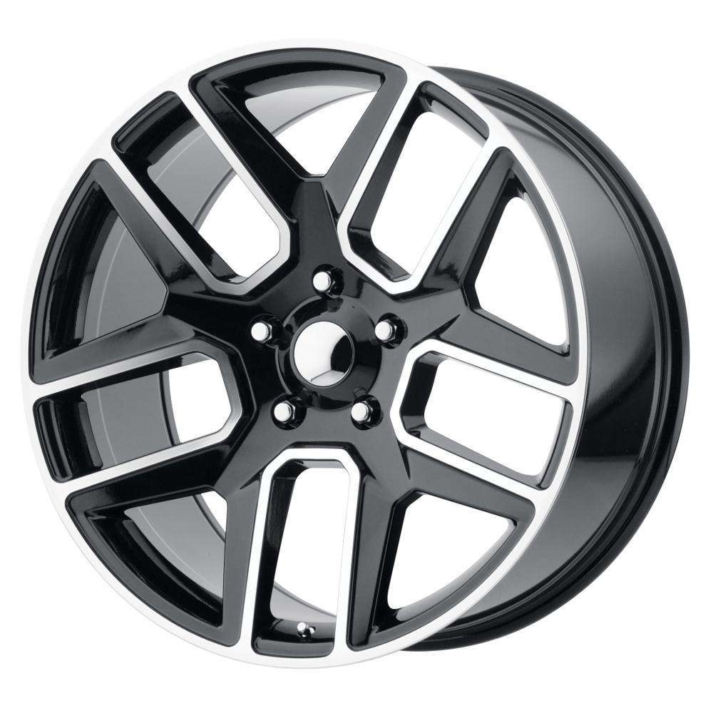 OE Creations Wheels PR192 - Gloss Black and Machined Rim