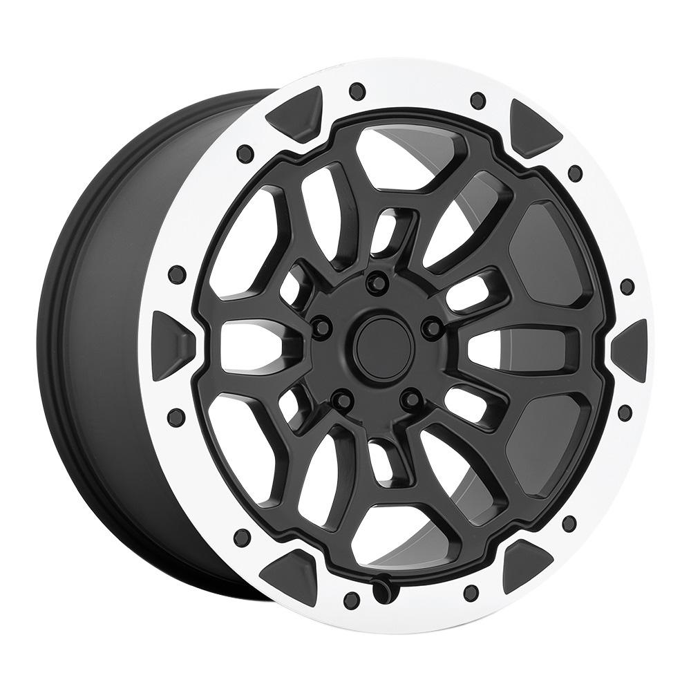 OE Creations Wheels PR215 - Matte Black Machined Rim
