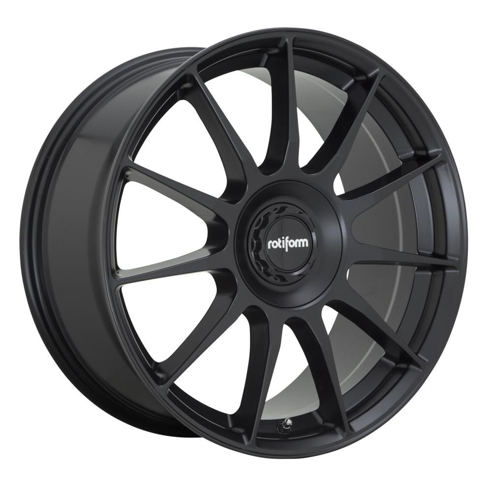 Rotiform Wheels DTM R168 - Satin Black Rim